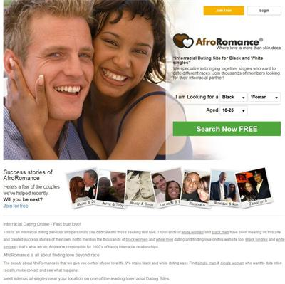 Dating sites for white and black