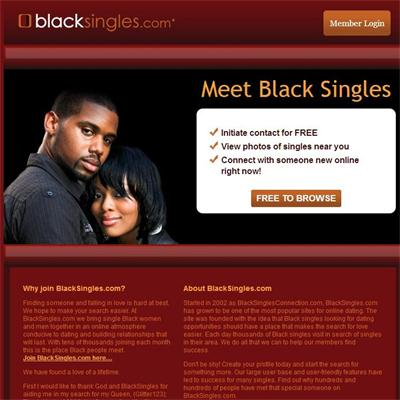 black online dating sites free
