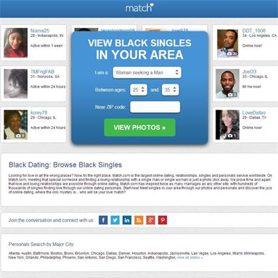 What black dating sites are missing