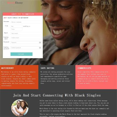 The best black online dating site